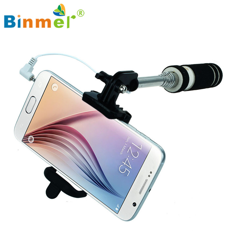 Hot-sale BINMER Selfie Sticks Gifts 14-60cm Handheld Extendable Stick