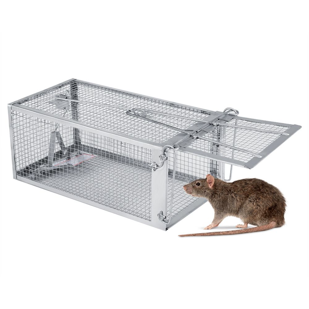 Rat Cage Mice Rodent Animal Control Catch Bait Hamster