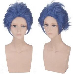 Image 5 - Violet Evergarden Anime Cosplay Wig Claudia Hodgins Gilbert Bougainvillea Benedict Halloween Costume Party Wigs For Women Men