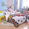 UNIKIDS Lindo de dibujos animados funda nórdica conjunto juego de cama para niño o niñas Niños Twin size KT015