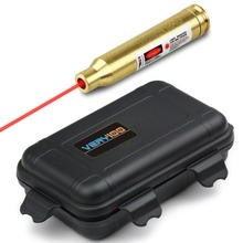 Best price Red Laser Pointer Bore Sighter 300 Win MAG Cartridge Sight Boresighter + Waterproof Case