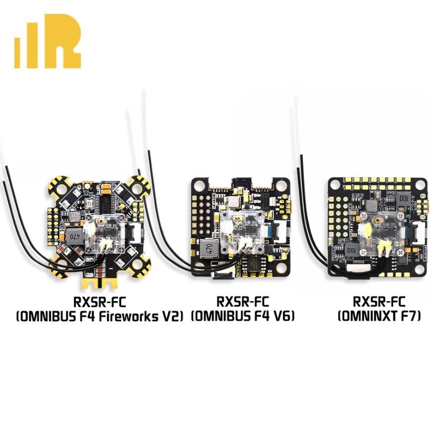 FrSky RXSR-FC OMNIBUS F4 V6 Omnibus Feux D'artifice V2 OmniNXT F7 Intégré R-XSR