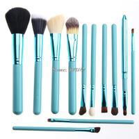 New 12pcs Professional Makeup Brush Set Cosmetic Brush Kit Makeup Powder Foundation Eyeshadow Tool
