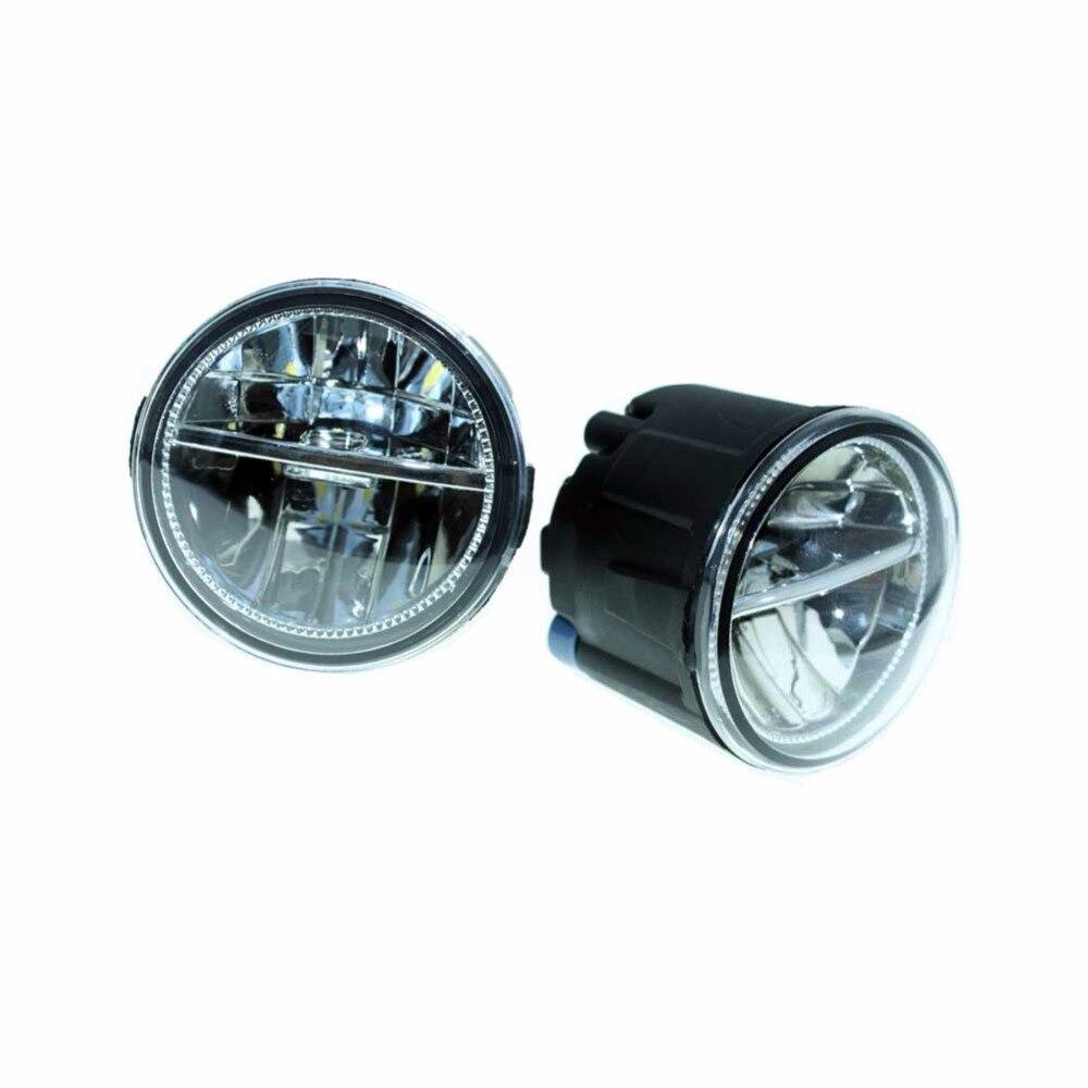2шт для Nissan NV200 EVALIA автобус 2010-2011 2012 2013 2014 2015 передний Fumper светодиодные противотуманные огни автомобиля стайлинг ДХО Н11 светодиодные лампы