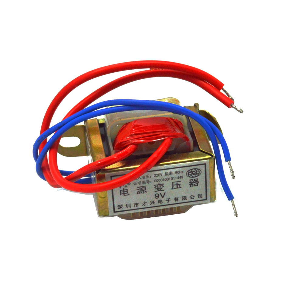 EI35*15 Single Output Voltage Ferrite Core Input 220V 50Hz Vertical Mount Electric Power Transformer 2W toroidal transformer
