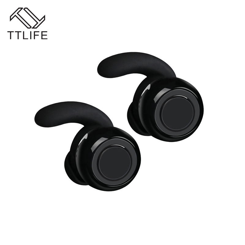 TTLIFE Twins Wireless Mini Bluetooth 4.1 Earphone/headphones Handfree Stereo Earbud Universal with Mic for iPhone xiaomi Airpods 2017 ttlife mini wireless earphone bluetooth headsets airpods with mic 2 in 1 with car charger for iphone 7 xiaomi mobile phones