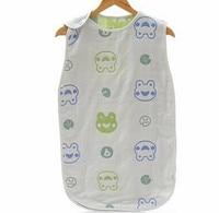 Säuglingsschlafsack Pilz Gaze Sleep von Natürlichen Organischen Baumwolltuch Dünn Sommer Kind Anti Tipi Ammer Tasche