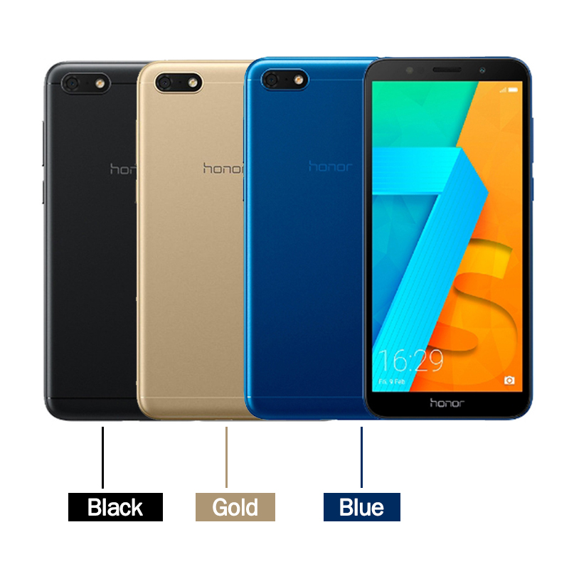 "Image 2 - Original Global Version Honor 7S  MT6739 Quad Core 13MP Rear Camera 3020mAh Battery 5.45"" 18:9 Screen 2GB 16GB Smartphone-in Cellphones from Cellphones & Telecommunications"