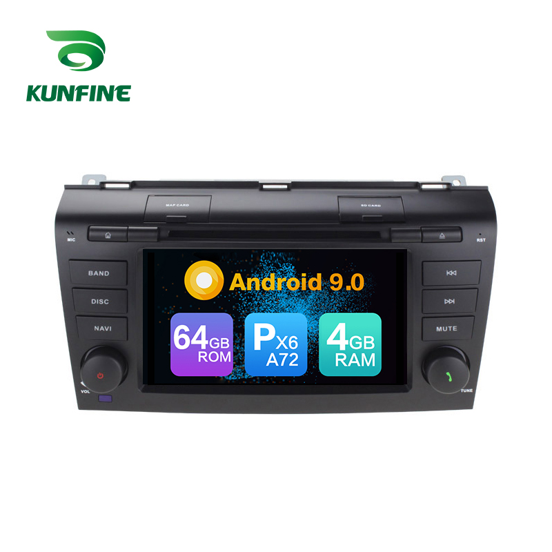 Android 9.0 Core PX6 A72 Ram 4G Rom 64G Car DVD GPS <font><b>Multimedia</b></font> Player Car Stereo For <font><b>Mazda</b></font> <font><b>3</b></font> 2003~2009 radio headunit image