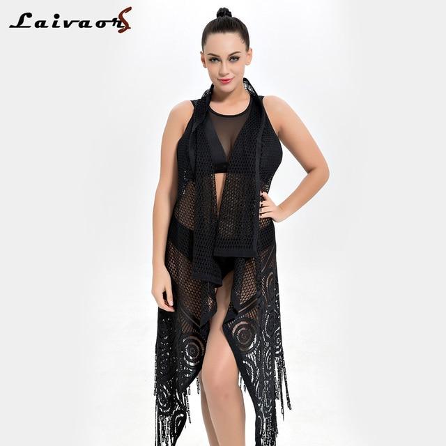 28cb518a2a872 Cheap Sexy Bikini Cover Up Lace Hollow Crochet Swimsuit Beach Dress Women  2018 Summer Ladies Cover