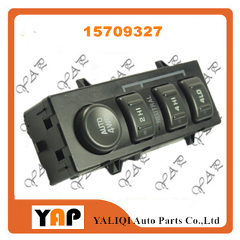 Power Window Lifter Switch Front Left FOR FITChevrolet Avalanche 2500 Silverado 1500 2500 4.3L 4.8L 6.0L 8.1L 15709327 19168767