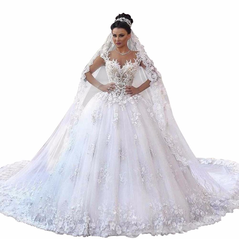 Online get cheap arabian wedding alibaba for Middle eastern wedding dresses