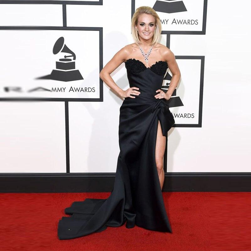 De Roja Carrie 2016 Underwood En Textura Alfombra Grammys La x8468Xq