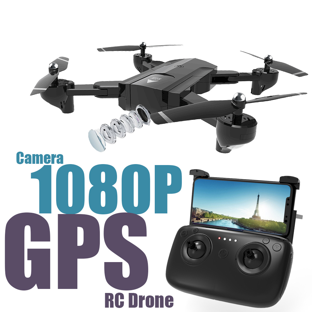 SG900-S drone with GPS WIFI FPV 1080P HD Camera Headless Mode Foldable RC Drone Quadcopter image