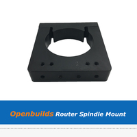 1pc Openbuilds 65mm 71mm Router Spindle Mount For CNC Machine 3D Printer Parts