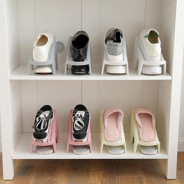Household Shoes Holder Home Shoe Finishing Rack Storage Shelf Closet Organizer Cabinet 3