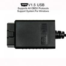 ELM327 V1.5 Super Mini USB Scanner Wireless Interface Auto Code Readers Diagnostic Tool OBDII Protocols