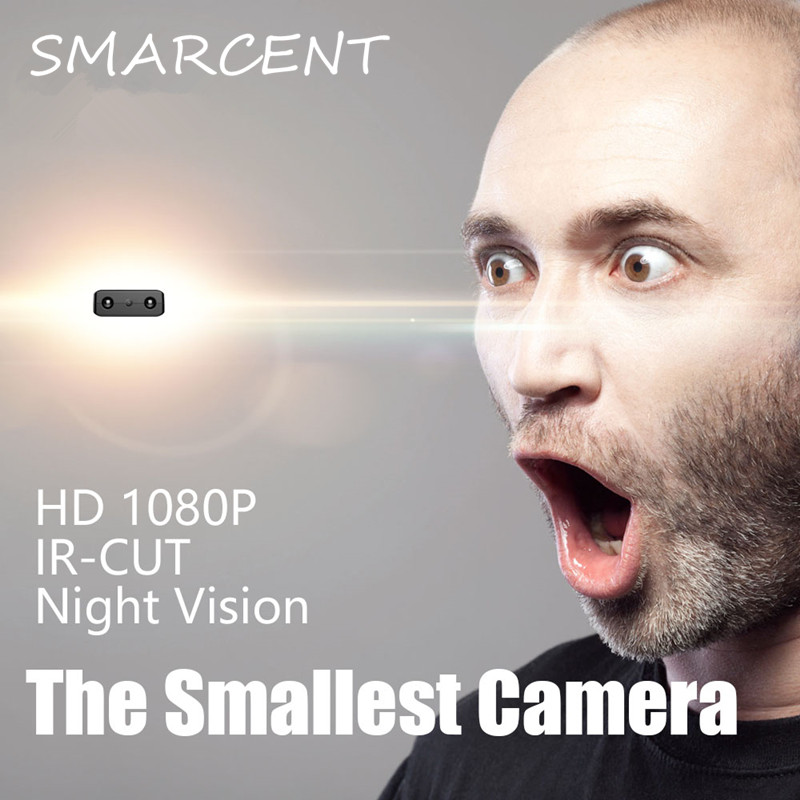 SMARCENT XD IR-CUT Mini Kleinste 1080 P Full HD-Camcorder Infrarot-nachtsicht Micro Cam Bewegungserkennung DV