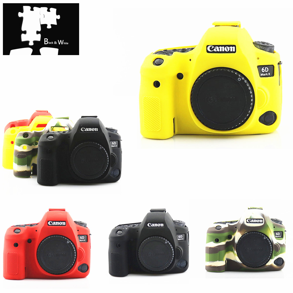 Protector Skin-Case Armor Body-Cover Mark-Ii Silicone Canon For EOS 6D 2-6dm2/Dslr-body-camera/Only