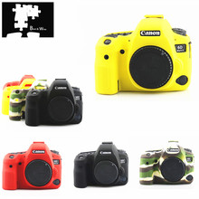 Silicone Armor Skin Case Body Cover Protector for Canon EOS 6D Mark II 2 6DM2 6D2 DSLR Camera ONLY