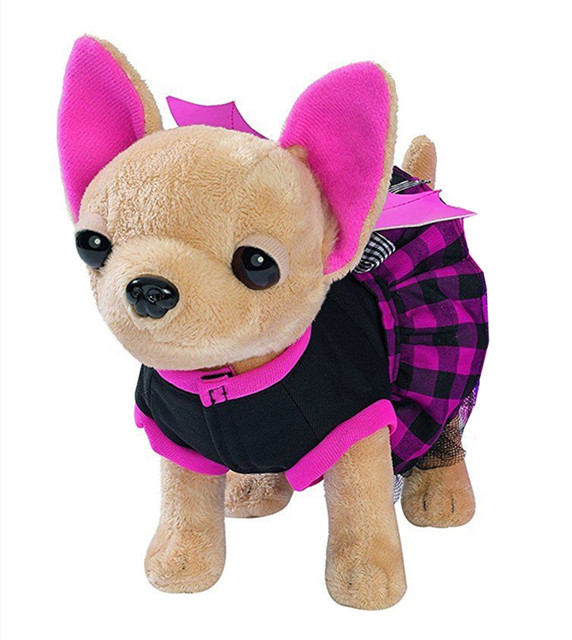 Chi Chi Love Plush Chihuahuas With Bag Interactive Electronic Pet