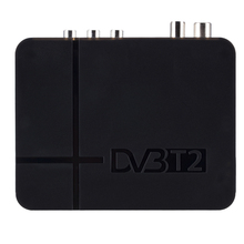 Hot Sale DVB-t2 Signal Receiver Of TV Fully For Digital Terrestrial DVB T2 / H.264 Timer Supports Dolby PVR