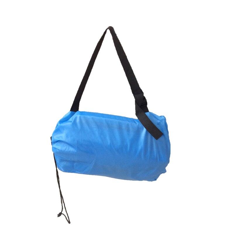 Paresseux Dormait Sac Rapide Gonflable Camping Air Canapé Plage de Couchage Lit Salon de La Banane Sac Laybag