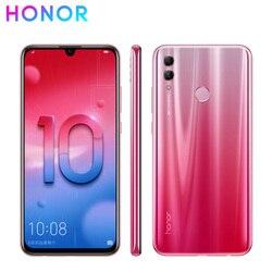 Перейти на Алиэкспресс и купить new honor 10 lite 4g lte mobile phone 6.21дюйм. 6gb ram 64/128gb rom kirin 710 octa core android 9.0 2340x1080px dual rear camera