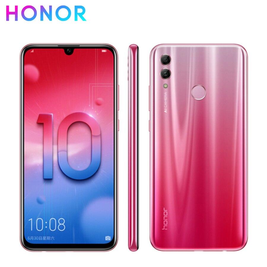 "New honor 10 lite 4G LTE Mobile Phone 6.21"" 6GB RAM 64/128GB ROM Kirin 710 Octa Core Android 9.0 2340X1080px Dual Rear Camera"