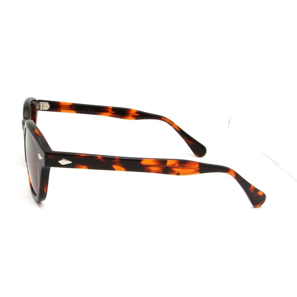 830fca788 Óculos de Sol Rebite para Homens Óculos de Marca Retro Johnny Depp ...