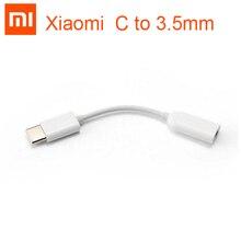 Xiao mi Type   C ถึง 3.5 มิลลิเมตรสายหูฟังอะแดปเตอร์ประเภท C ชาย 3.5 AUX audio แจ็คหญิง xiao mi mi 6 mi 6 8 se หมายเหตุ 3 mi x 2 วินาที A2