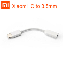 Xiao mi type c 3.5mm 이어폰 케이블 어댑터 유형 c 남성 3.5 aux 오디오 여성 잭 xiao mi mi 6 mi 6 8 se 참고 3 mi x 2 s a2