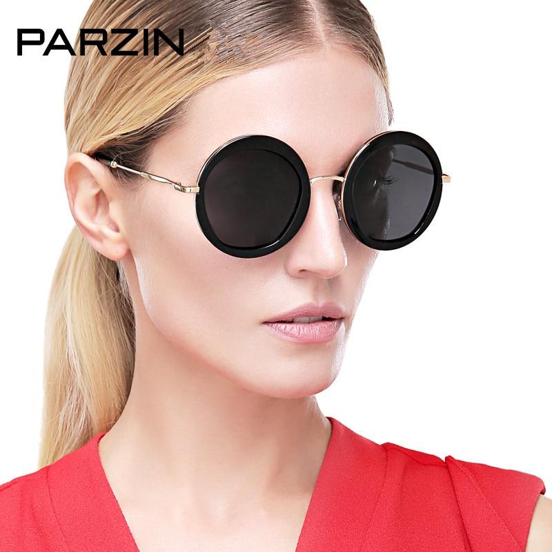 PARZIN Vintage Putaran Sunglasses Wanita Retro Polarized Sunglasses - Aksesori pakaian - Foto 1