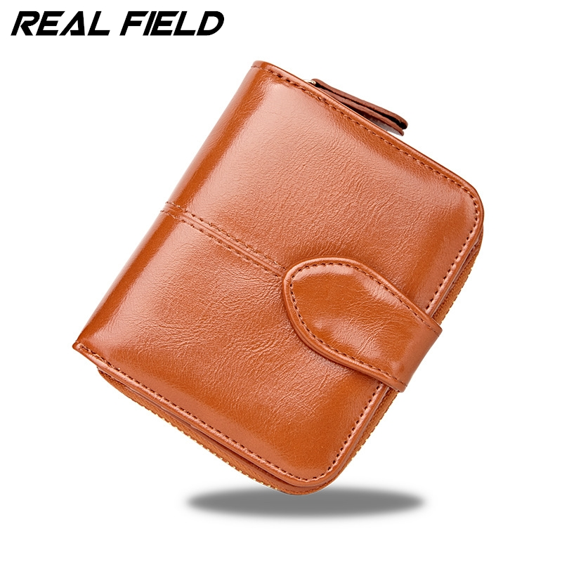 New Fashion Girls Short Womens Purse Small Mini Wallet Women Card Coin Purse PU Leather Brand Lady Zipper Female Wallets