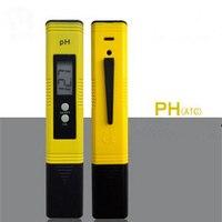 Mini Digital LCD PH Meter Penna di Prova 0.00-14.00pH Uso per Acquario Acqua Piscina Portatile di Alta Qualità Digital PH tester del Tester
