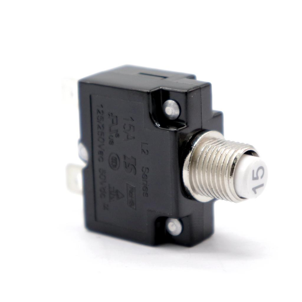 Image 3 - 1 Pcs 15A Circuit Breaker With Push Button Resettable & Transparent Waterproof Cap For Car Truck Boat Etc DC 50V Or AC 125/250V-in Truck Accessories from Automobiles & Motorcycles