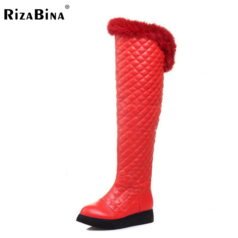 women flat over knee boots long boot weeding snow warm winter botas classics quality cotton footwear shoes P20449 size 34-39 winter warm snow boots cotton shoes flat heels knee high boots women boots wholesale high quality