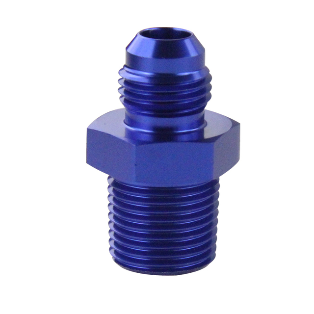 AN 6 to 3/8 NPT Straight Adapter Flare Fitting Male 1