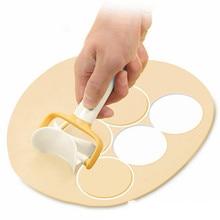 Новое прибытие рулонный резак для печенья круглый рулонный нож для теста круговой резак для теста#0111 A1