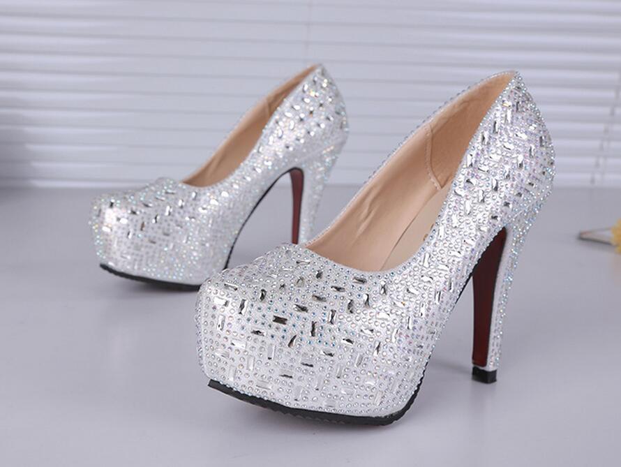 Online Get Cheap Silver Glitter Pumps -Aliexpress.com | Alibaba Group