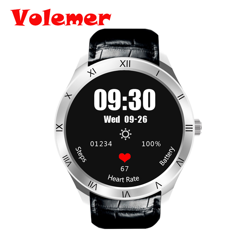Volemer Q5 Android 5.1 Smart Watch 1.39 AMOLED Display MTK6580 3G WiFi Nano SIM Card GPS Bluetooth Smartwatch for IOS Andriod цена