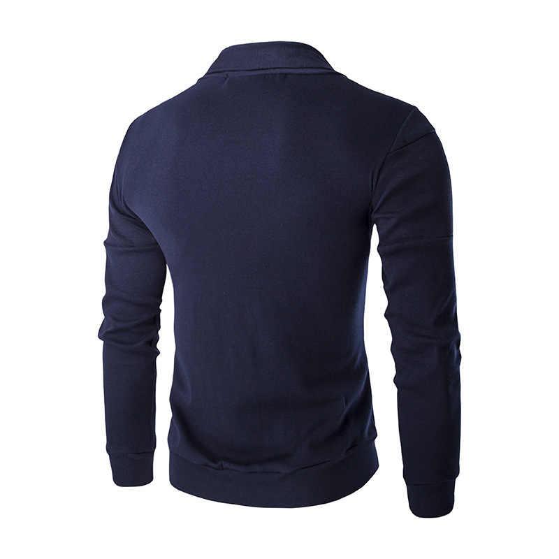 Повседневный мужской кардиган весна осень мужские тонкие трикотажные куртки пальто мужской однобортный длинный рукав тонкий свитер пальто Топы