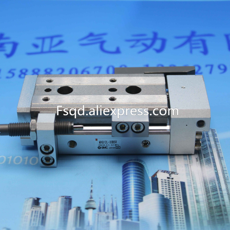 MXQ12L-100 MXQ12L-30BSR SMC air slide table cylinder pneumatic component MXQ series mhc2 6s mhc2 6s1 mhc2 6s2 mhc2 6s3 angular style air gripper pneumatic component mhc series smc cylinder