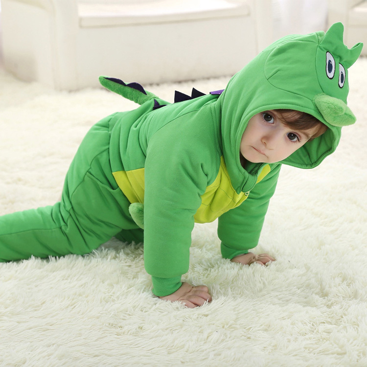 Hot sell 3D Dragon shape baby clothes set for kids wear 0-24monthes 4color choose set clothes hairbrand wear fit 43cm baby born zapf children best birthday gift only sell package