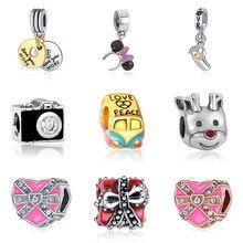 DIY  bracelet beads mary poppins plata de ley 925 jewelry bijoux joyas de plata witchcraft sieraden jewellery charms цена
