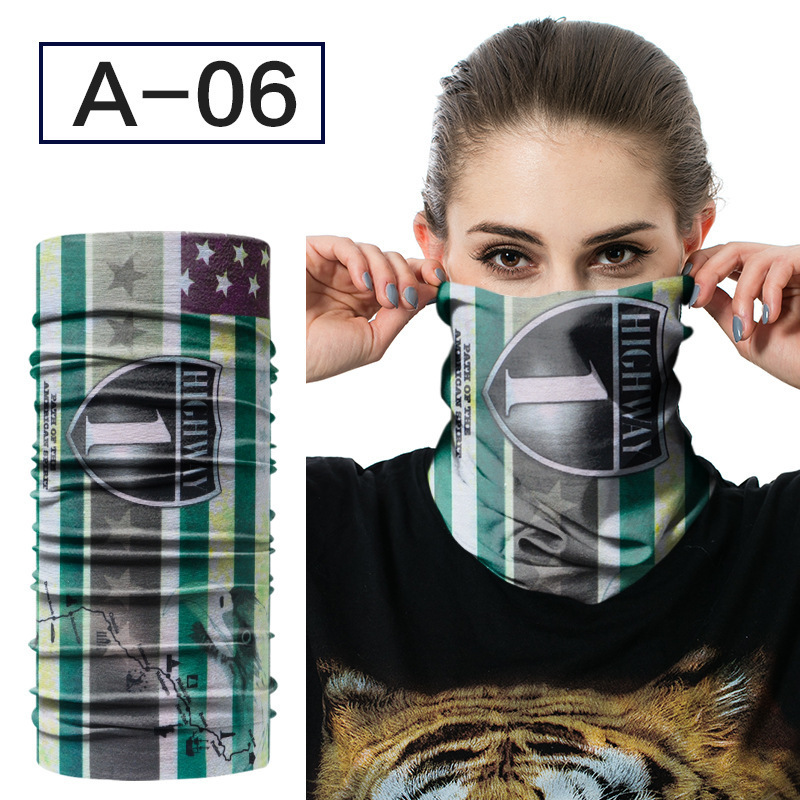 JAMONT Neck Face Mask Motorcycle Bandana Stretchable Tubular Headband Multi Scarf Tube Mask Cap for men and women Neck Gaiter