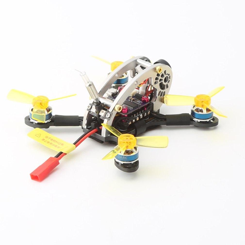 Drone quadrirotor de course FPV RC sans balai LDARC Flyegg 130/100 V2 5.8G avec récepteur FM800 caméra VTX Version OSD PNP