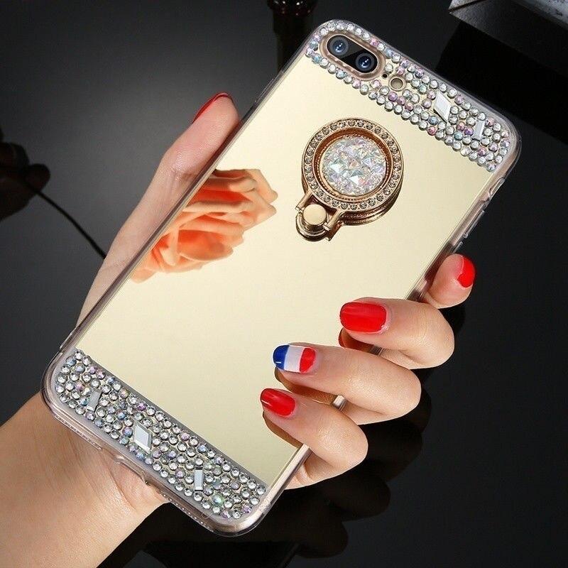 Diamond Finger Ring Phone Case cover (5)