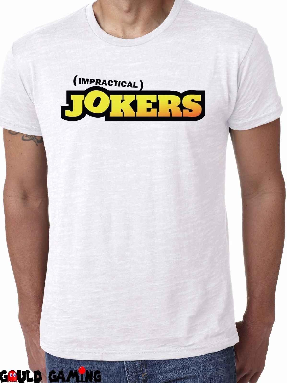 Impractical Jokers футболка унисекс забавные ТВ Sal Джо Q Murr логотип комедийные размеры New2019 модный бренд 100% хлопок печатных Круглый N