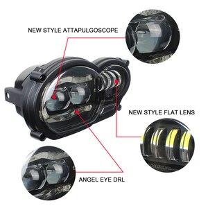 Image 3 - Мотоциклетные аксессуары, светодиодная фара в сборе с DRL, оригинальный комплект для BMW R 1200 GS 2008 2009 2010 2011